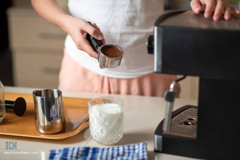 Women Making the Espresso Base