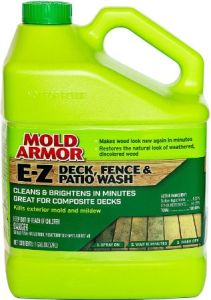 Mold Armor FG505 E-Z Deck and Fence Wash - Best Mold and Mildew Remover for Wood