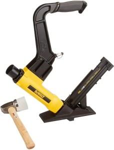 DEWALT DWFP12569 Flooring Stapler, 2-in-1 Floor Nailer for Hardwood Flooring