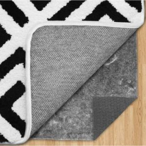 Gorilla Grip Felt and Natural Rubber Rug Pad for Area Rug - Thick Cushioned Gripper