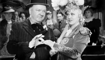 W. C. Fields and Mae West in My Little Chickadee