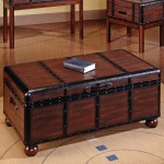 Trunk Style Coffee Table Azspringtrainingexperience
