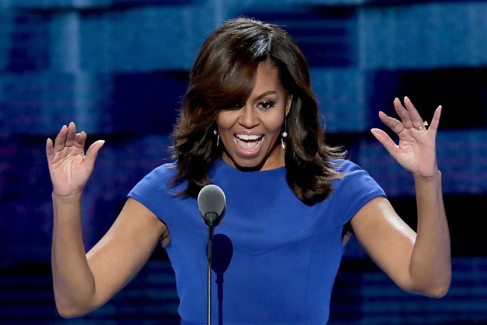 PHILADELPHIE, PA - 25 juillet: Première Dame Michelle O