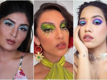 Makeup Influencer Looks, Shreya Jain, Rowi SIngh, Debasree Banerjee (Source: Instagram