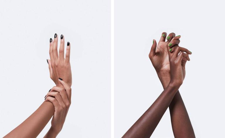 Changez les tendances des ongles d'été avec ces nuances noires et vertes
