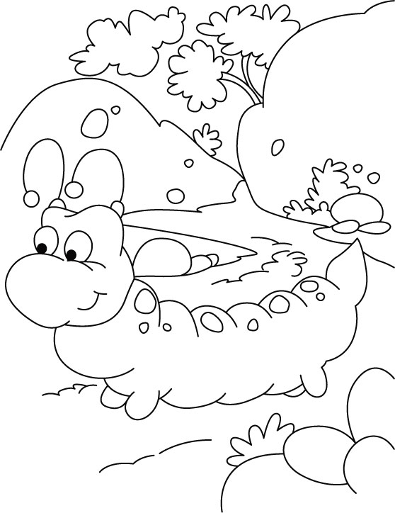 a walk regular must for caterpillar coloring pages download