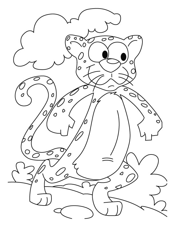 cheetah the power house coloring pages download free cheetah the