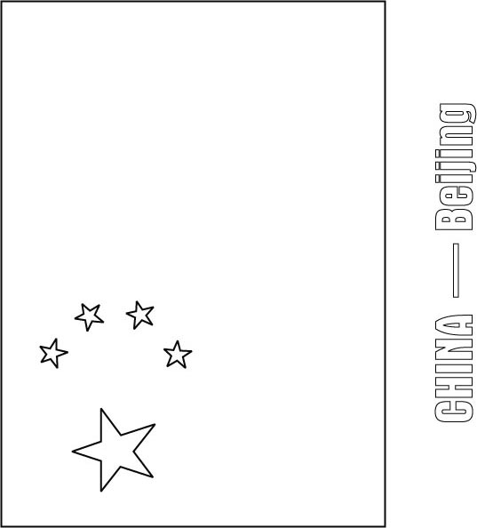 china flag coloring page download free china flag coloring page