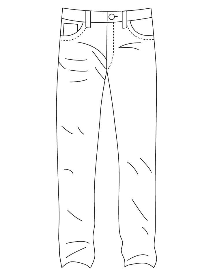 denim jeans coloring pages download free denim jeans coloring pages