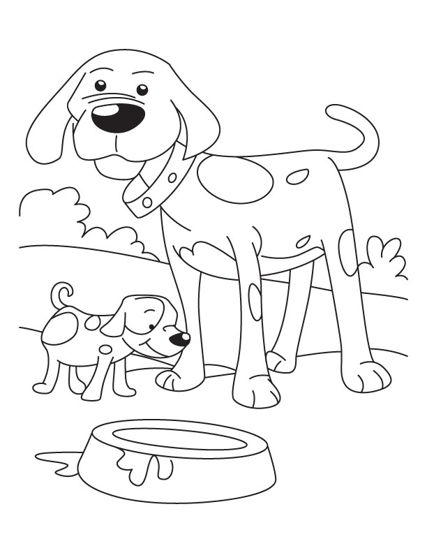 puppy and dog coloring pages download free puppy and dog