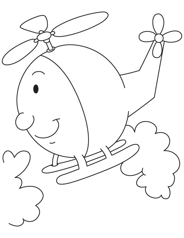 helicopter coloring page download free cartoon helicopter coloring