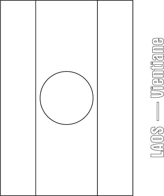 laos flag coloring page download free laos flag coloring page