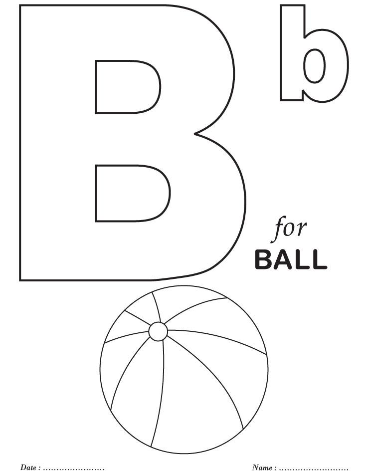 printables alphabet b coloring sheets download free printables