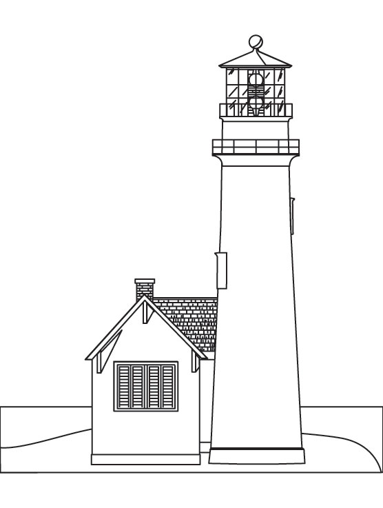 light house coloring page download free light house coloring