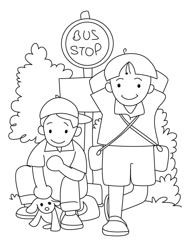 Waiting Coloring Pages Download Free Waiting Coloring