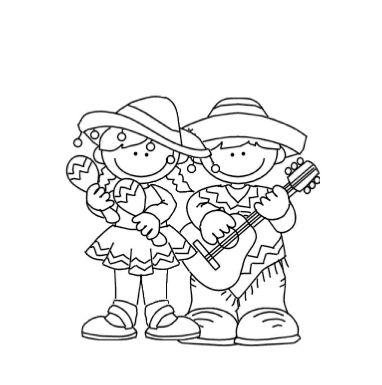 Free Printable Cinco De Mayo Coloring Pages For Kids