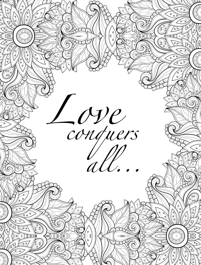 Free Printable Valentine Coloring Pages For Adults - Novocom.top