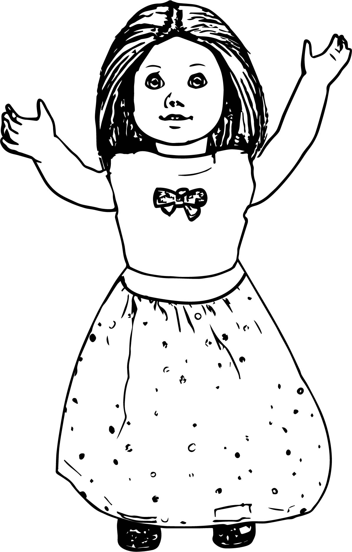 Print American Girl Print Free Printable Coloring Pages For Girls Novocom Top