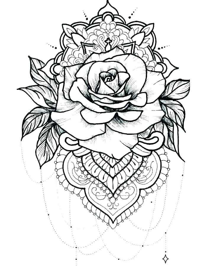 Free Printable Hearts And Flowers Coloring Pages - Novocom.top