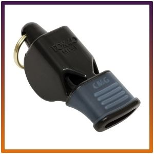 Fox Classic 40 Cushioned Mouth Grip Whistle.