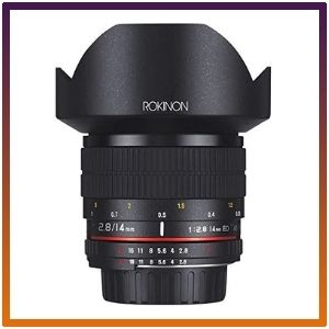 Rokinon AE 14M-C 14mm ultra Wide Angle Lens