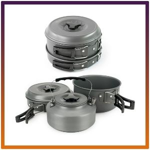 Winterial Camping Cookware