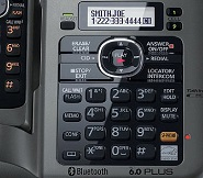 Panasonic KX-TG7645m phone set