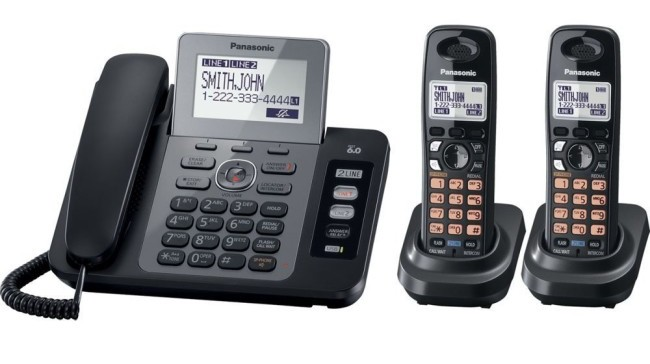 Panasonic KX-TG9472B DECT 6.0 cordless phone set