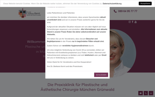 Dr Barbara Kernt Clinic Munich Germany