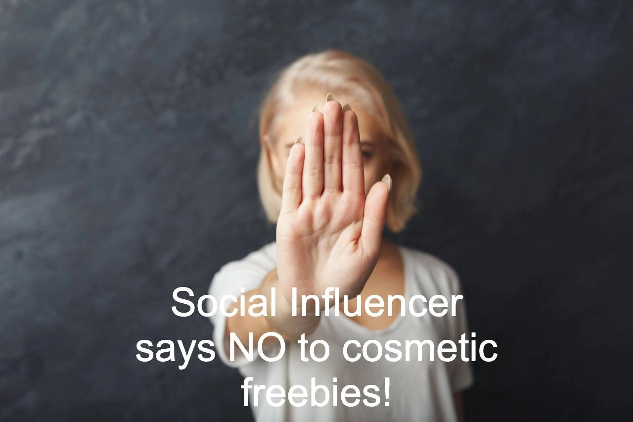 influencer says no