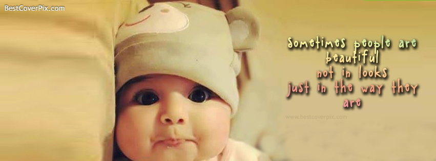 cute babies quote cover fb
