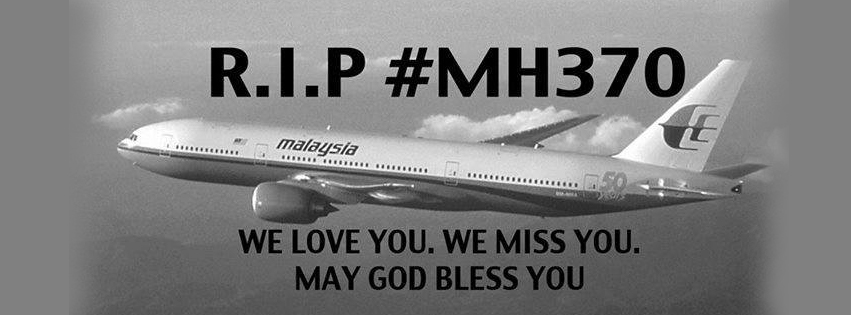malaysia airlines mh 370 RIP