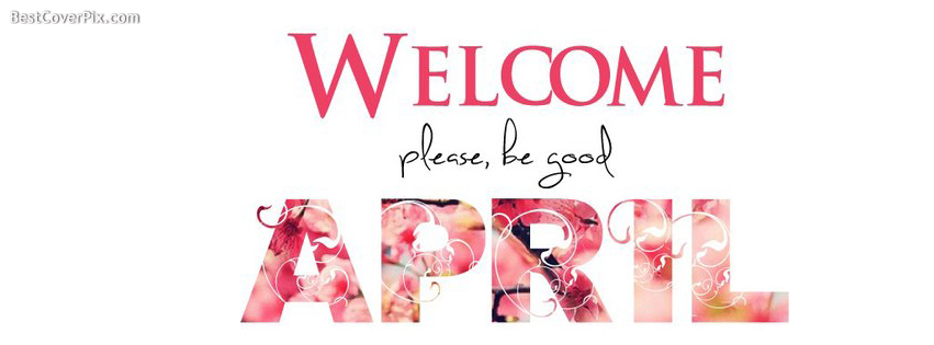 welcome april fb cover