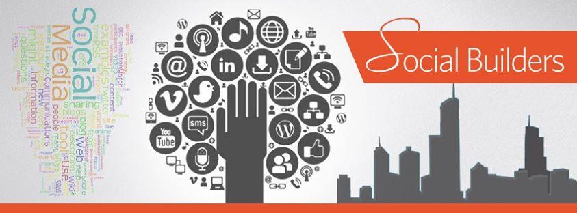 Social media builder company offcial brand Facebook cover desinging example