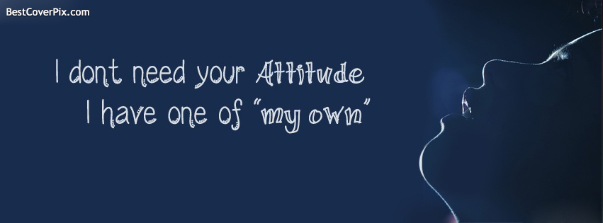 Attitude Cool Profile Cover Photos For Facebook