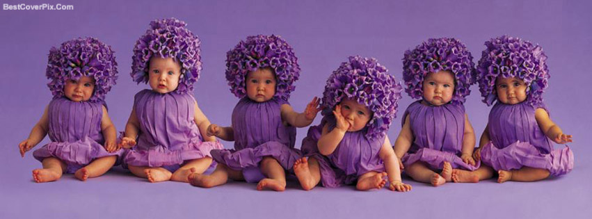purple babies many emotions fb cover