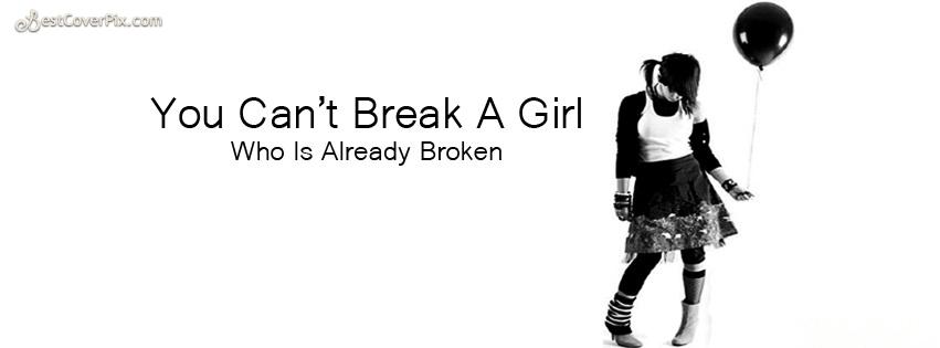 sad girls fb cover photo