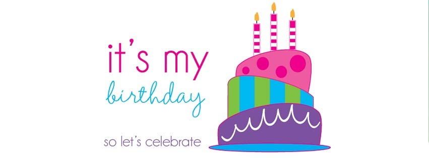its my birthday facebook cover