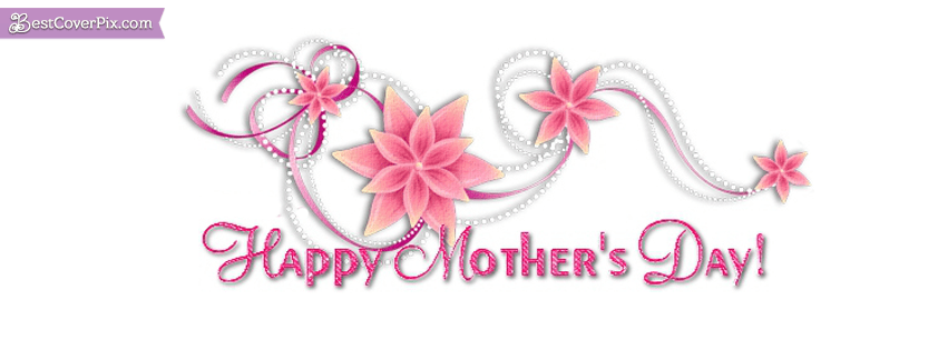 glitter mothers day Facebook  cover