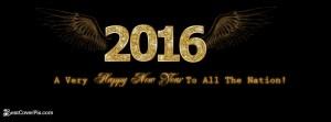 happy new year banner 2016