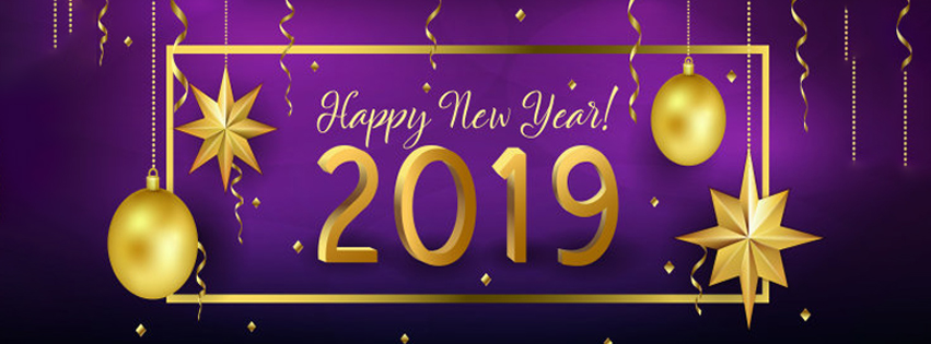Happy New Year FB Timeline banner