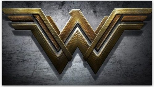 comic logo wonder woman