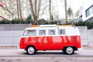 You can hardly pull of a DIY move without a camper van, like this VW Transporter.