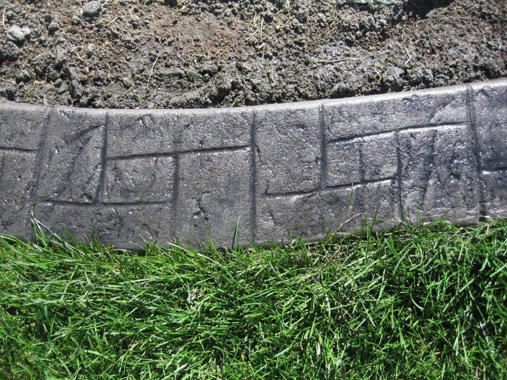 Base- medium charcoal  Release- dark grey  Stamp- castlerock/ stucco curb