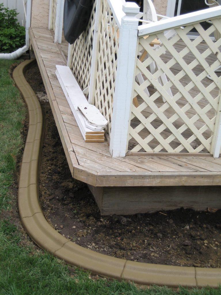simplify mowing under deck