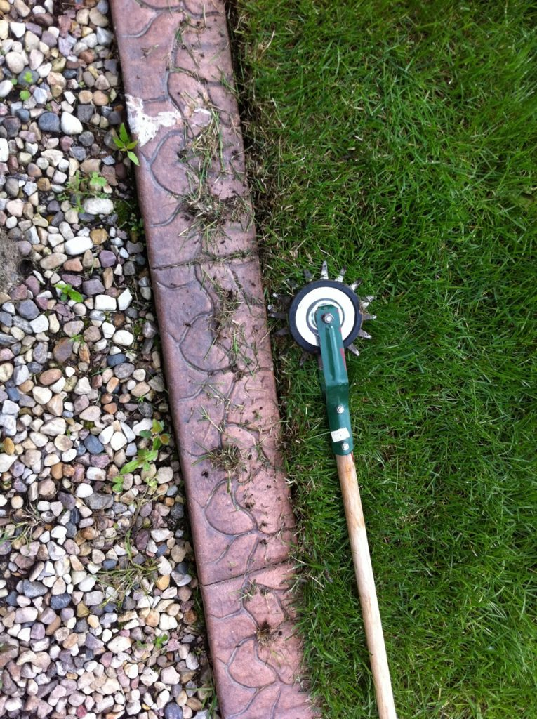 Or an old school manual edger