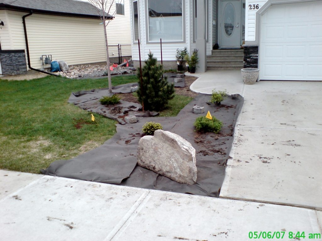 Customer prep is left too raged for good curb installation