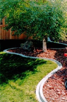 a nice feature created by bumping the bed out into the yard