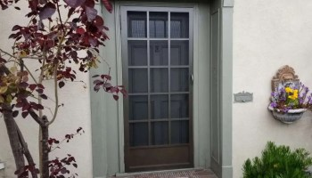 Vista Custom - Hinged Swinging Screen Door