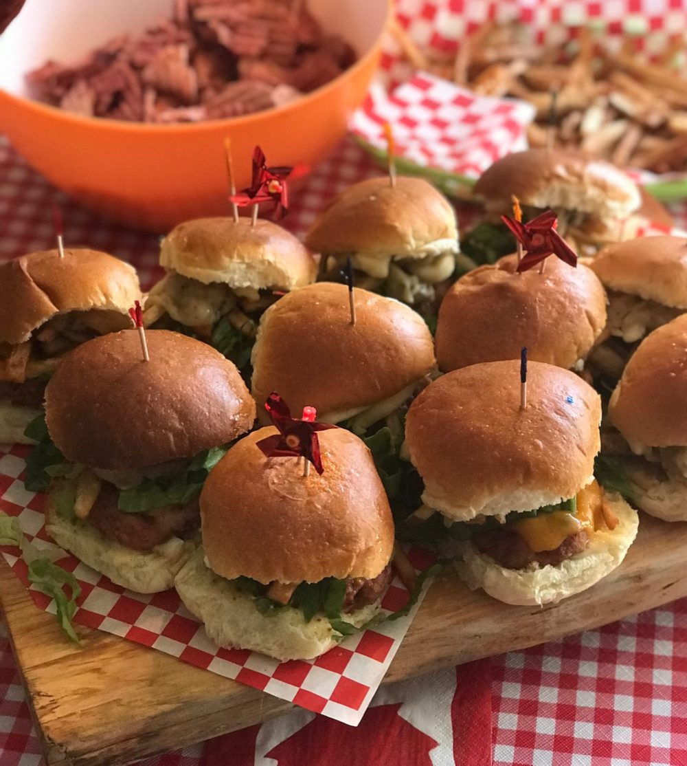 Host a Canada Day Slider Competition